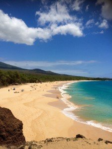 Big Beach is located in Makena